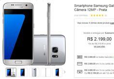 "Samsung Galaxy S7 Android 6.0 Tela 5.1"" 32GB 4G Câmera 12MP << R$ 208905 >>"