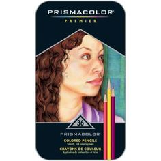 Prismacolor Premier Thick Core Colored Pencil - 36 Set.    THESE ARE SUCH BEAUTIFUL COLORED PENCILS!! They work beautifully and blend so amazing!! They work great on sketch paper, Bristol board and tone tan paper!! Go get these beautiful colored pencils!! ❤️
