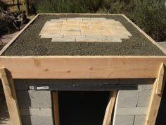 Insulating Base for Pizza Oven #garden