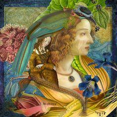I have Faith in You - Deviant Scrap Gallery Collages, Collage Art, Hidden Art, Elephant Art, Art Journal Inspiration, Paper Art, Cut Paper, Mixed Media Art, Graphic Art