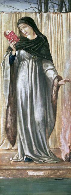 Winter by Edward Burne-Jones