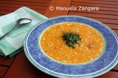 Pumpkin and Barley Soup