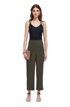 Women's Trousers | Cropped, Wide Leg, Smart Trousers & Culottes | WHISTLES