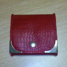 Design by Simonne: Rood geldbeugeltje