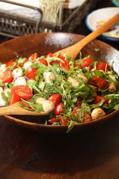 Mother's day Caprese salad.  I've fixed this several times and everyone always asks for the recipe!
