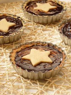 My CuteCakes: Tartaletas de Turrón y Chocolate
