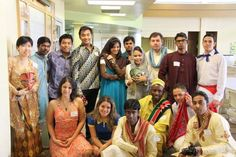 Students who participated in 2011-2012 foreign-exchange program made possible by the Community College Consortium