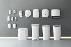 Hygiene Product Range Rentokil Initial Ltd, Great Britain / design DNA