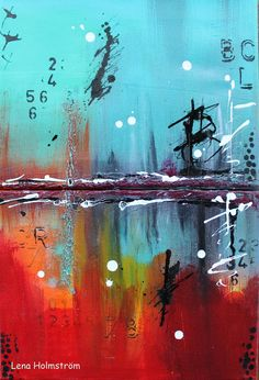 Abstract Canvas Class with Limor Webber