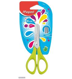 Maped START SCISSORS 13 CM - 5 Inches ON BLISTER CARD Model -464010 by Maped Online - Scissors - Hobbies - Pepperfry Product