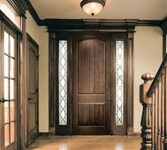 fiberglass entry doors with sidelights - Google Search