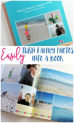 Get those pictures off your computer and into a photo book that you can sit down and look at! Do it easily with Make My Book from Shutterfly! [ad]