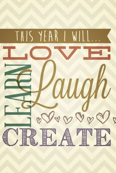 This year I will... (Free desktop & iPhone wallpaper)