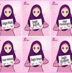Yang harus dijaga, muslimah