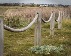 rope swag fence - Google Search                                                                                                                                                      More