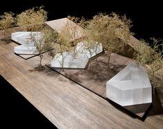 Frieze Art Fair Pavilions by Carmody Groake....some of the best model trees I've seen