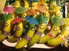 Kinder traktatie banaan