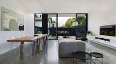 Modern Addition Breathes New Life Into Terrace House in Australia
