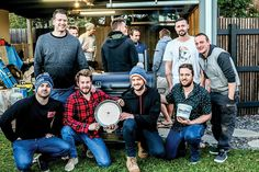 """#Cooking up a storm in cancer fight - Bayside News: Bayside News Cooking up a storm in cancer fight Bayside News SEVEN barbecue """"pit…"""