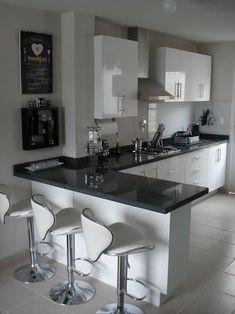 Kitchen Room Design, Kitchen Cabinet Design, Modern Kitchen Design, Home Decor Kitchen, Interior Design Kitchen, Modern Kitchens, Small Kitchens, Kitchen Designs, Kitchen Ideas