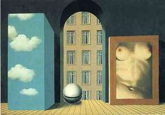 Rene Magritte - Act of Violence  René Magritte : More At FOSTERGINGER…