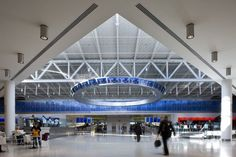 Ring of Fire, JEt Blue Terminal, JFK, Photo: Nic Lehoux