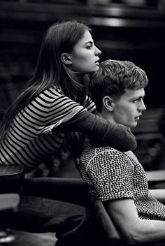 Cameron Russell & Benjamin Eidem pose for Love In A Warm Climate story captured by photographer Lachlan Bailey for the edition of Man About Town. Couple Photography, Editorial Photography, Portrait Photography, Fashion Photography, Photography Ideas, Friend Photography, Maternity Photography, Couple Portraits, Couple Posing
