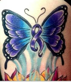 awareness butterfly