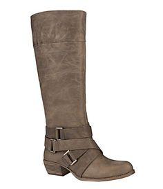 Gianni Bini - Boots (one of my fave shoe people! Gianni Bini Shoes, Cute Boots, Buckle Boots, Casual Boots, Knee High Boots, Me Too Shoes, Riding Boots, Shoe Bag, Zapatos