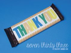 seven thirty three - - - a creative blog: A Sweet Thank You free printable