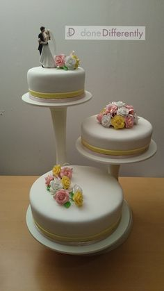 Simple One To On How Make A Wedding Cake From Start Finish