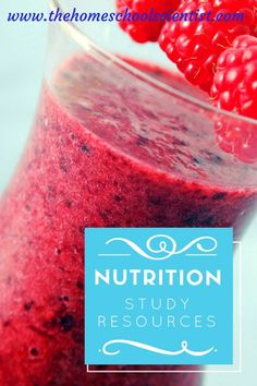 Nutrition Study Resources