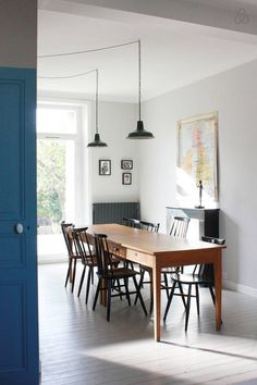 Dining room modern vintage decor and style