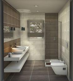 150 Stunning Farmhouse Bathroom Tile Floor Decor Ideas And Remodel To Inspire Your Bathroom – Flooring Spa Like Bathroom, Bathroom Floor Tiles, Small Bathroom, Master Bathroom, Tile Floor, Bad Inspiration, Bathroom Inspiration, Modern Bathroom Design, Bathroom Interior Design
