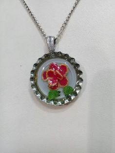 Handmade resinnecklace