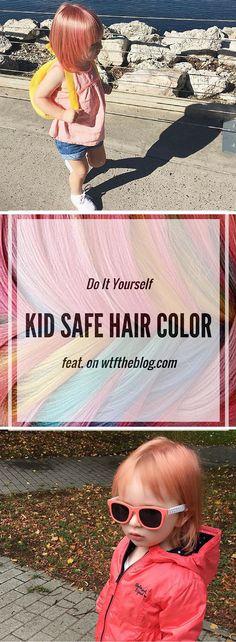 Kid Safe Hair Color