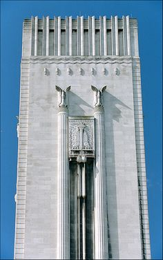 Architecture - Art Deco - George's Dock Ventilation and Control Station of the Mersey Road Tunnel, Liverpool Art Deco Decor, Art Deco Stil, Art Deco Design, Classic Architecture, Architecture Details, Modern Architecture, Arte Art Deco, Estilo Art Deco, Art Deco Illustration