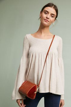 Knitted & Knotted Esme Bell-Sleeve Pullover #ad