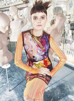 Vasilisa Pavlova by Alexei Hay for Marie Claire UK March 2016-loewe