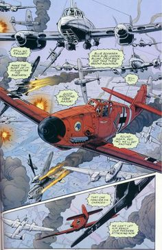 War in Heaven Enemy Ace Ww2 Aircraft, Fighter Aircraft, Military Aircraft, Fighter Jets, Luftwaffe, German Soldiers Ww2, Airplane Art, War Comics, Futuristic Art