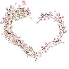 H817 (24) Wreath Watercolor, Watercolor Flowers, Watercolor Art, Frame Floral, Flower Frame, Flower Art, Framed Wallpaper, Flower Wallpaper, Motif Floral