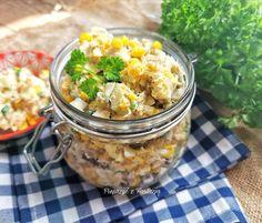 Sałatka z makreli wędzonej - Pieprzyć z fantazją Chana Masala, Vegetables, Ethnic Recipes, Food, Essen, Vegetable Recipes, Meals, Yemek, Veggies