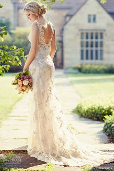 essense of australia wedding dress 2015 bridal jeweled strap v neckline ivory sheath gown d1786