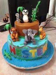 zoo animal birthday cakes - Google Search