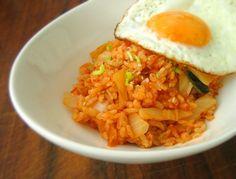 kimchi bokkeum bap
