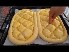 Ramazan Pidesinde Bu Tariften Şaşmayın💯Fırındakilere taş çıkartan lezzet 👍 - YouTube Baby Hair Bows, Hot Dog Buns, Apple Pie, Pineapple, Cheese, Make It Yourself, Cooking, Desserts, Recipes