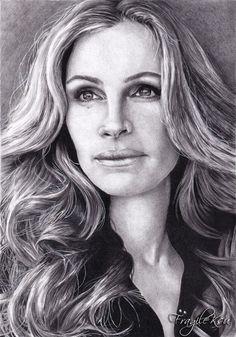 Celebrity artwork | ... Art Board here- Julia