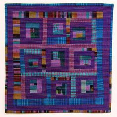 Mini Scrap Quilt | Flickr - Photo Sharing! do something blue and purple maybe with brown