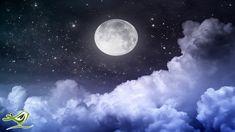 Meditation Musik, Guided Meditation, Evening Meditation, Healing Meditation, Night Sky Moon, Night Skies, Night Clouds, Mac Wallpaper, Photo Wallpaper