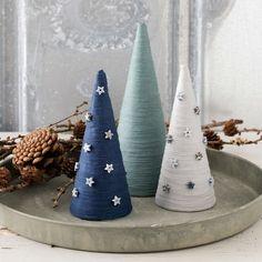 PATTERN - Christmas tree with yarn - Stoff & Stil